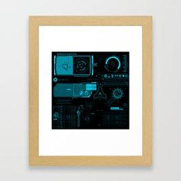 Mark 42 HUD Framed Art Print