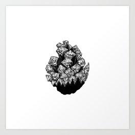 Pinecone I Art Print