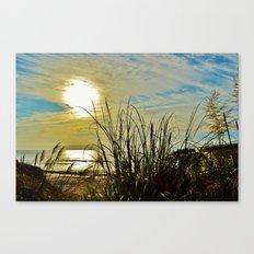Into the Ocean (color) Canvas Print