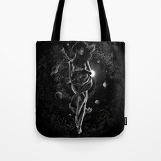 XXI. The World Tarot Card Illustration (Mother Earth) Tote Bag