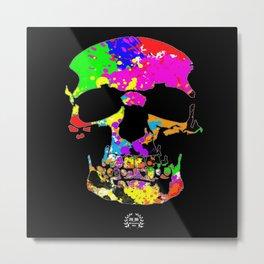 Taffy Skull Metal Print