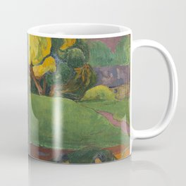 Paul Gauguin - Mata Mua (In Olden Times) (1892) Coffee Mug