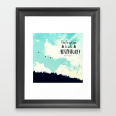 Another Adventure Framed Art Print