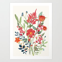 Beautiful Flowers Art Print
