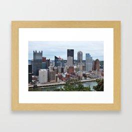 Steel City Framed Art Print