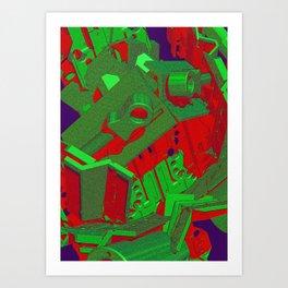 Mechanical 10 Art Print