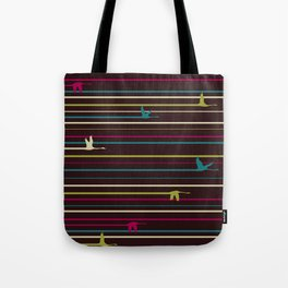 Duck Trails Tote Bag