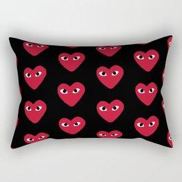 Commes Des Garcons Rectangular Pillow
