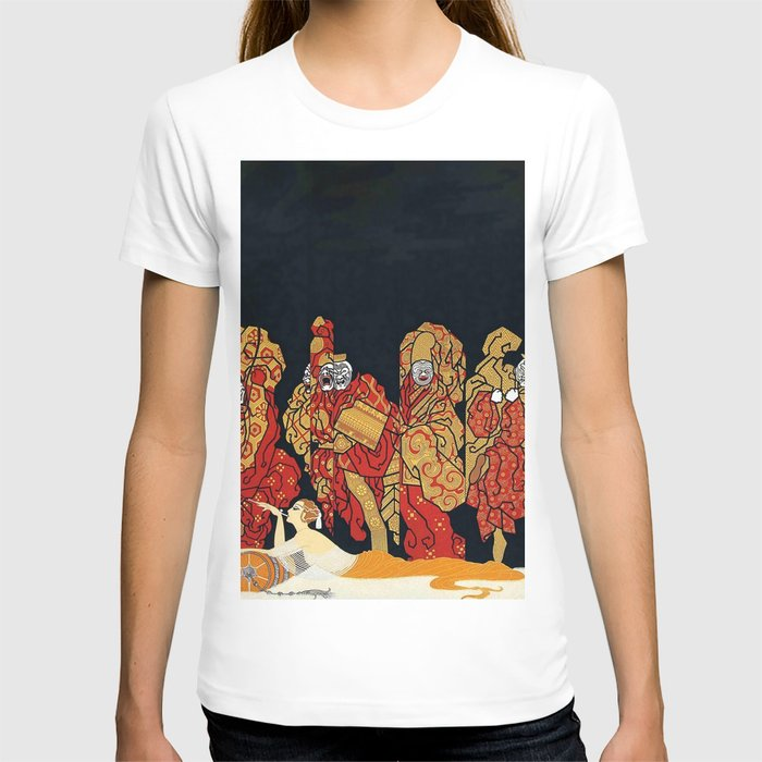 "Art Deco Design ""Mah-Jongg"" T-shirt"