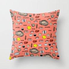 Sushi Zo Pattern Throw Pillow