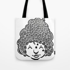 Smiling is good for you. Tote Bag