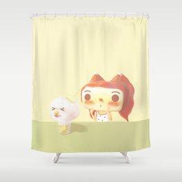 Naughty Soda Shower Curtain