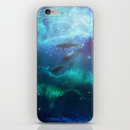 Mystic dolphins iPhone Skin