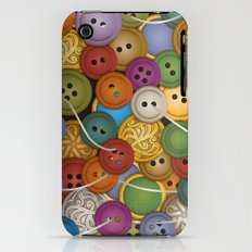 Buttons iPhone (3g, 3gs) Slim Case