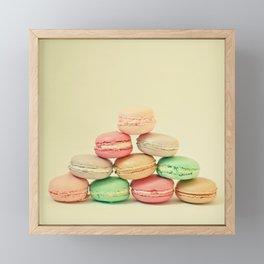 French Macarons Framed Mini Art Print