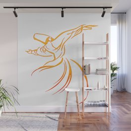 Sema The Dance Of The Whirling Dervish Wall Mural