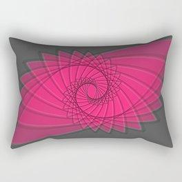 hypnotized - fluid geometrical eye shape Rectangular Pillow