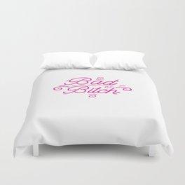 Bad Bitch Shirt Feminism Feminist Bitches Gift Duvet Cover