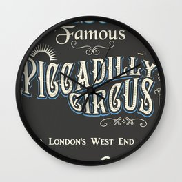 Londons famous piccadilly circus Wall Clock