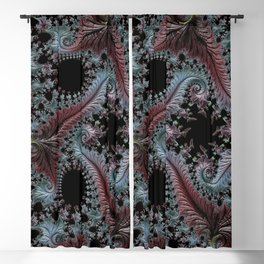 Intricate Fractal Blackout Curtain