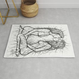 Sexual Energy b&w Rug