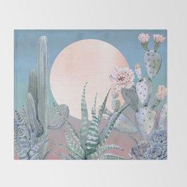 Desert Twilight by Nature Magick Throw Blanket