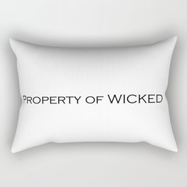 Property of WICKED Rectangular Pillow