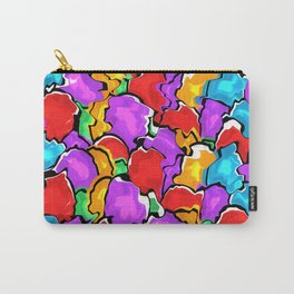 Colorful Scrambled Eggs Carry-All Pouch