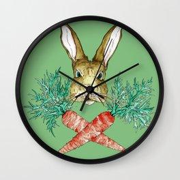 Born to be Bunny Wall Clock