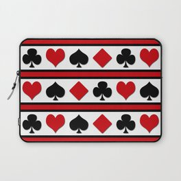 Four card suits Laptop Sleeve
