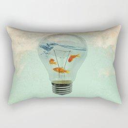 ideas and goldfish 02 Rectangular Pillow