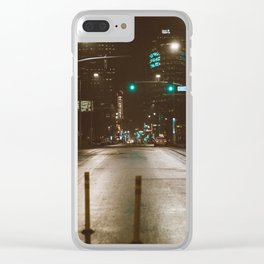 Night in KC Clear iPhone Case