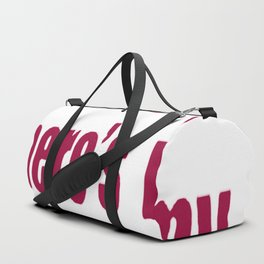 DUDE WHERE_S MY COUTURE T-SHIRT Duffle Bag