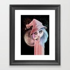 Astro Charmer Framed Art Print