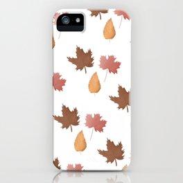 Autumn Party iPhone Case