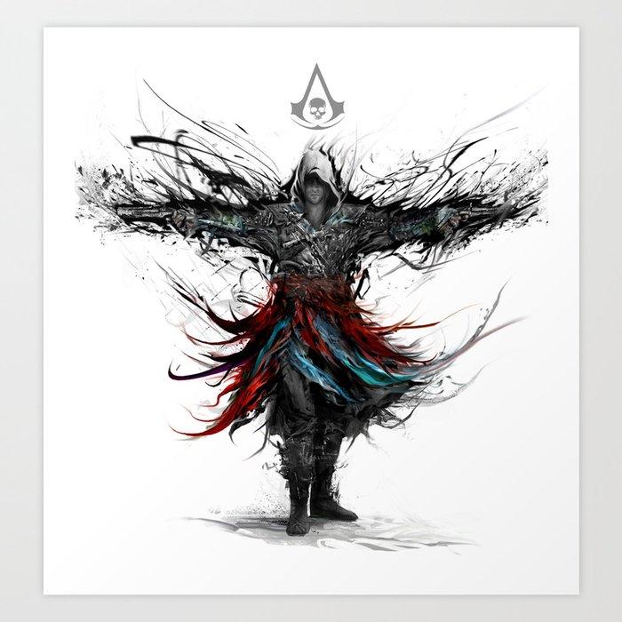 Assassins Creed Art Print By Ururuty Society6