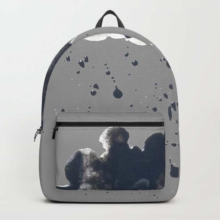 Inky Oil Cloud of Radiation Backpack