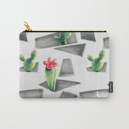 Geometric #2 Carry-All Pouch