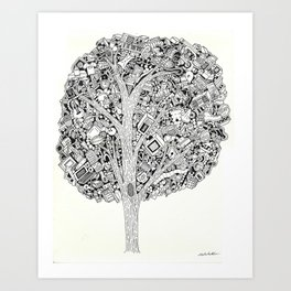 The Tree that never Fails Art Print