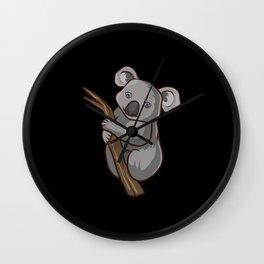 Koala Baby Wall Clock