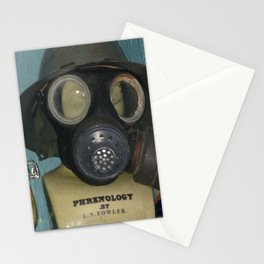 Phrenology's a gas Stationery Cards