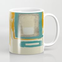 rothko Mugs featuring Soft And Bold Rothko Inspired by Corbin Henry