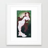 sailor jupiter Framed Art Prints featuring Sailor Jupiter by Dixie Leota