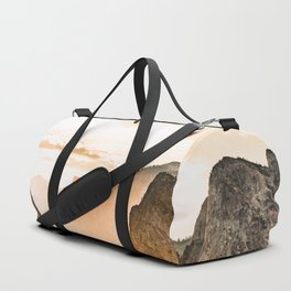 Yosemite Valley Burn - Sunrise Duffle Bag