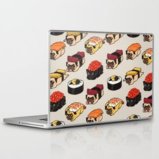 Sushi Pug Laptop & iPad Skin