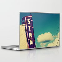 stanley kubrick Laptop & iPad Skins featuring Stanley by Trish Mistric