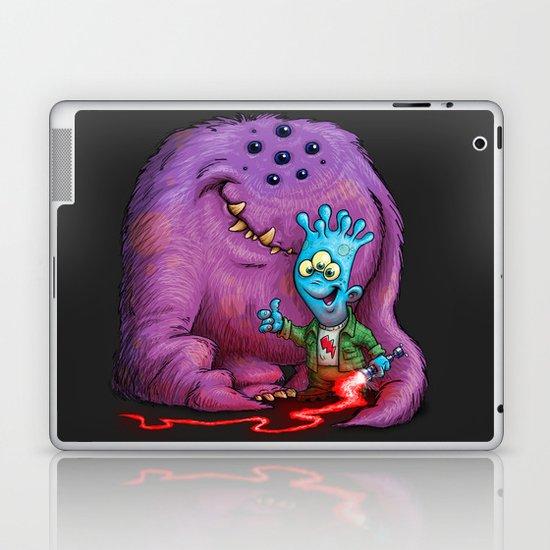 A boy and his Grogg Laptop & iPad Skin