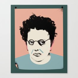 Philip Glass Canvas Print