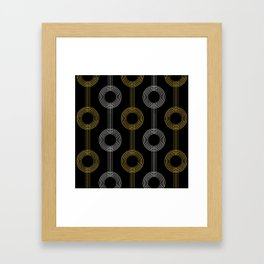 GUITAR IN ABSTRACT GS  (art deco) Framed Art Print