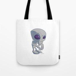 Chibi Alien Tote Bag